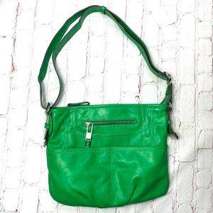  •TYLER RODAN•  Kermit GREEN 9x12 Handbag